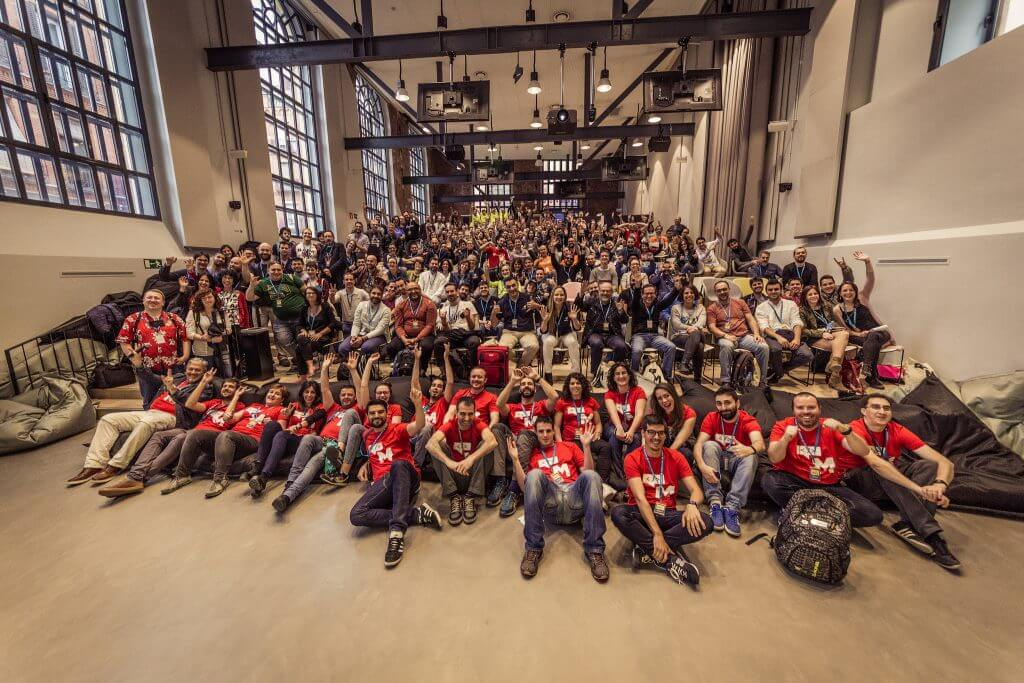 Foto de grupo WordCamp Madrid 2017
