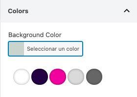 Selector de color ACF final